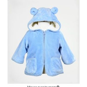 Other - Baby Faux Fur Winter coat 6M